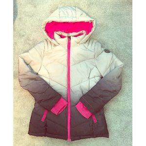 EUC Justice girl's heavy winter coat